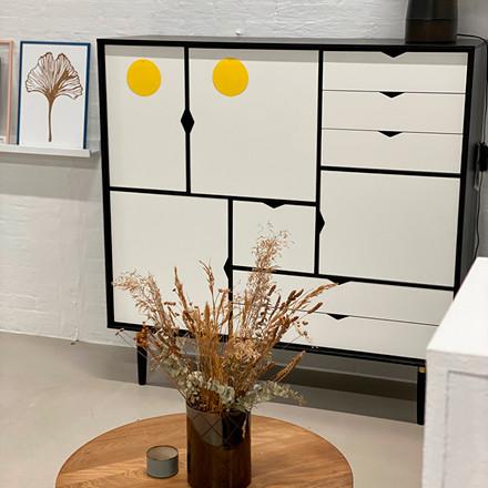 Andersen Furniture Reol S3 Sort Udstillingsmodel