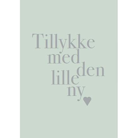 Kort & Plakat Tillykke Med Den Lille Ny Dreng Kort