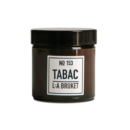 L:A Bruket Scented Candle Tabac Lille