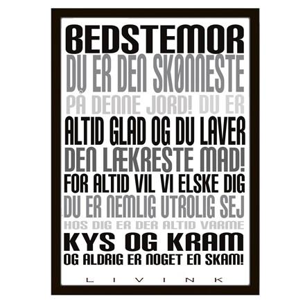 Livink Bedstemor Plakat