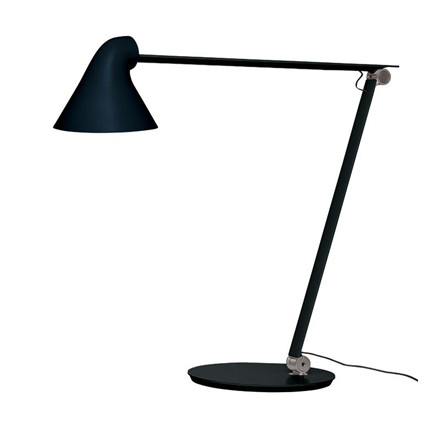 Louis Poulsen NJP Bordlampe Sort