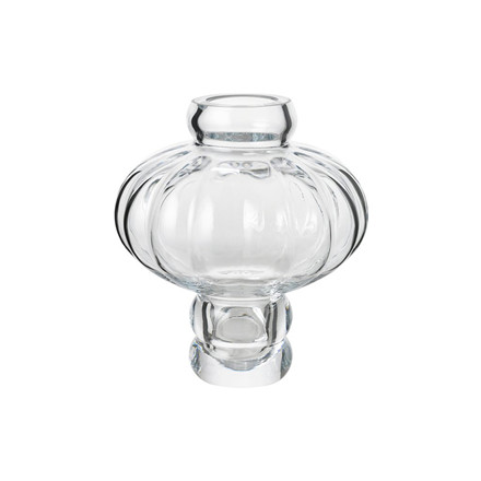 Louise Roe Balloon Vase 02 Clear