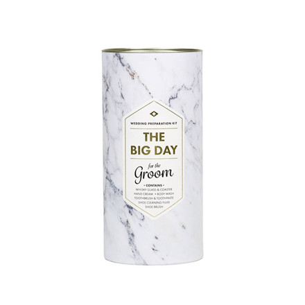 Men's Society For the Big Day Groom Gift Set