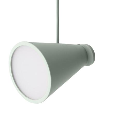 Menu Bollard Lamp Pale Green