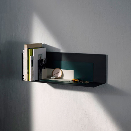 Menu Corner Shelf Large Black