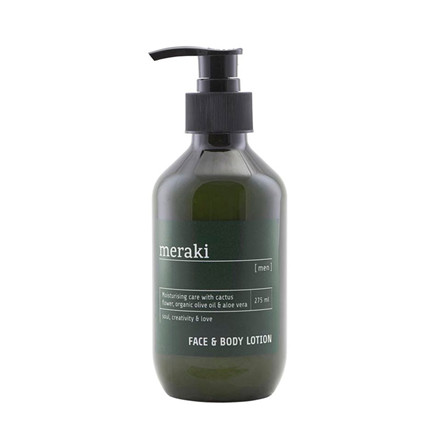 Meraki Face & Body Lotion Men