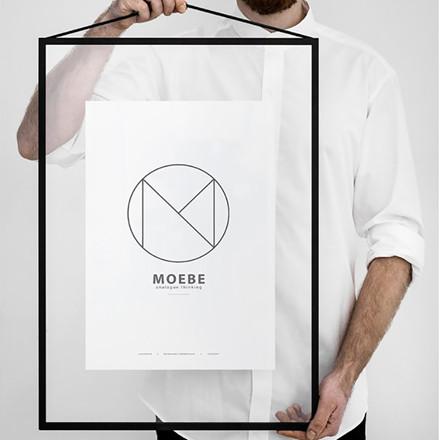Moebe Black Frame A2