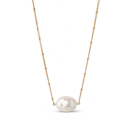 Enamel Copenhagen Coco Baroque Necklace Gold-Plated