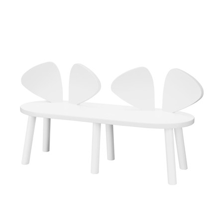 Nofred Mouse Bench 2-5 Years White