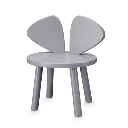 Nofred Mouse Chair 2-5 Years Grey