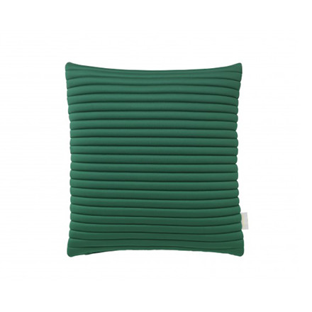 Nomess Linear Memory Pillow Square Green