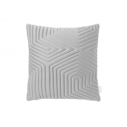 Nomess Optical Memory Pillow Square Grey