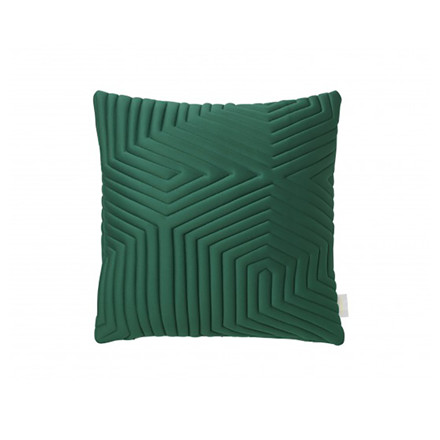 Nomess Optical Memory Pillow Square Green