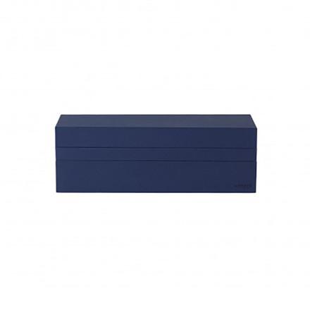 Nomess Rectangular Tray Box Dark Blue