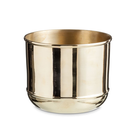 Nordstjerne Brass Flower Pot