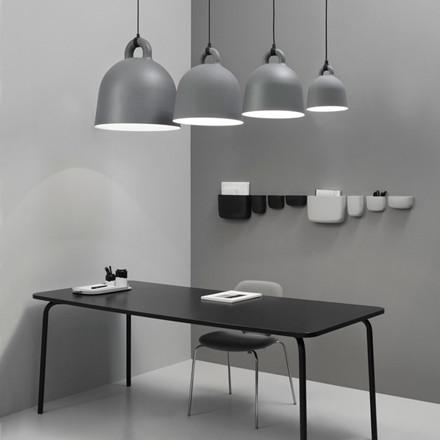 Normann Cph Bell Lamp Grey