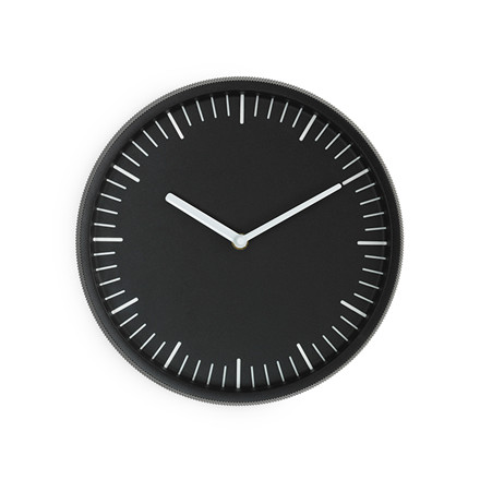 Normann Cph Day Wall Clock Black