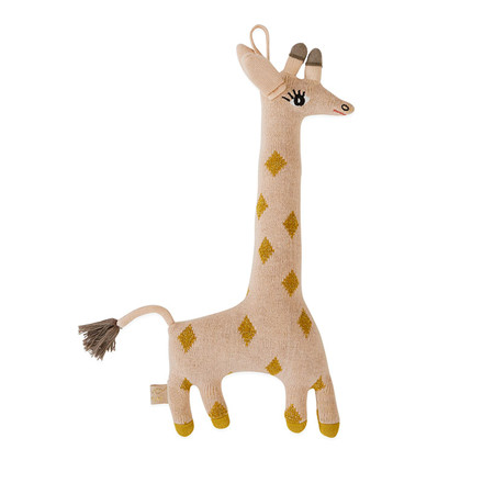 OYOY Baby Guggi Giraff Darling Cushion