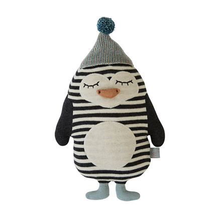 OYOY Baby Bob Penguin Darling Cushion