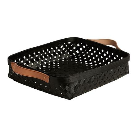 OYOY Sporta Bread Basket Black Small