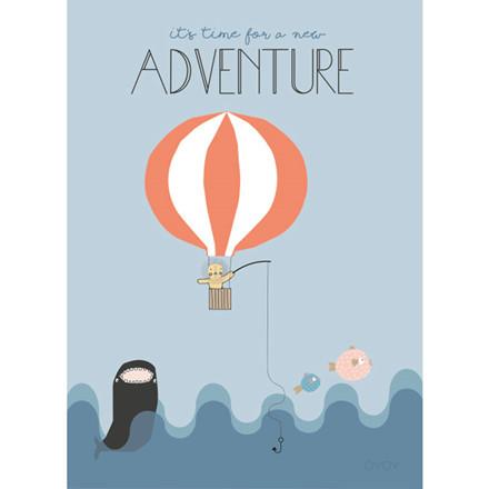 OYOY Balloon Poster