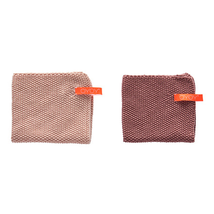 OYOY Dishcloth Vanilla & Rose