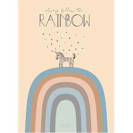 OYOY Rainbow Poster