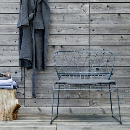 Skargaarden Resö Lounge Chair Charcoal Grey