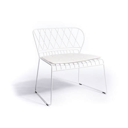 Skargaarden Resö Lounge Chair White