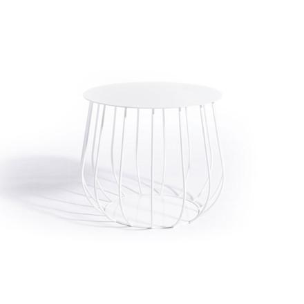 Skargaarden Resö Lounge Table Straight Bars White