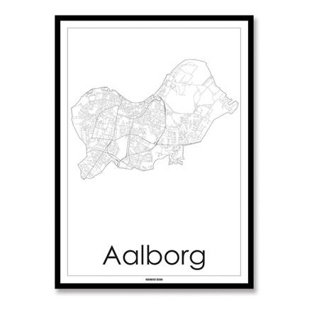 Rosenkvist Design Aalborg Plakat