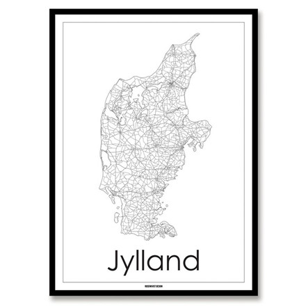 Rosenkvist Design Jylland Plakat