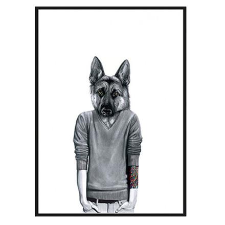 Sanna Wieslander Dawg Plakat