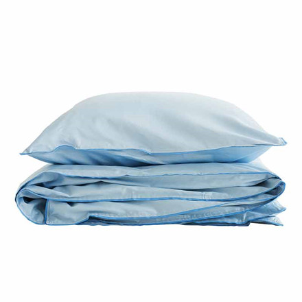 Semibasic A Bed Linen Blue/Blue