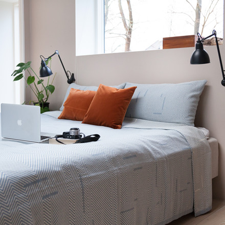 Semibasic COVER Kintsugi Bed Spread Blue