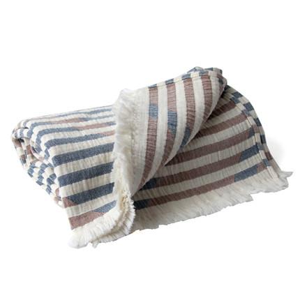 Semibasic FLY Blanket Blue, Amber & Natural White