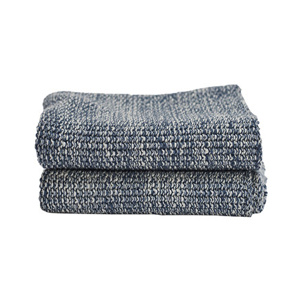 Semibasic HAND Knit Towel Blue