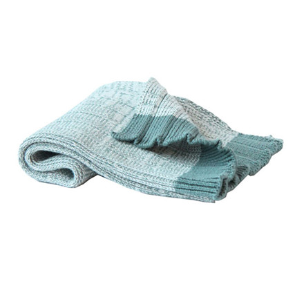 Semibasic Hand Plissé Knit Towel Green