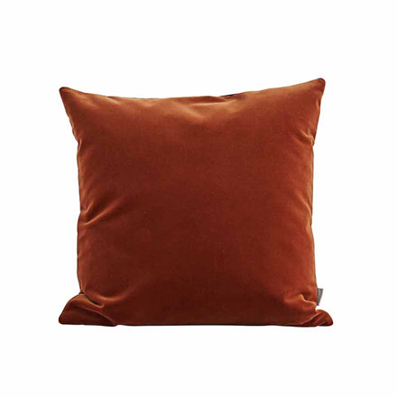 Semibasic LUSH Velour Cushion Amber 45 x 45