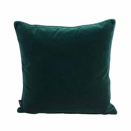 Semibasic LUSH Velour Cushion Green 45 x 45