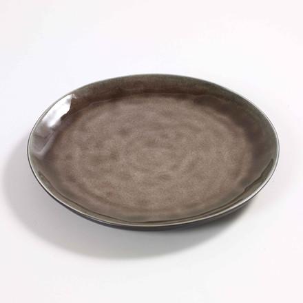 Serax Round Plate Brown