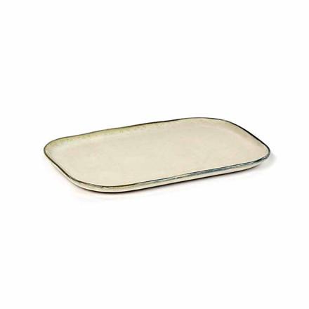 Serax Merci Rectangular Plate No. 2 L Off White