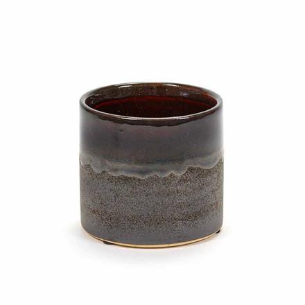 Serax Pot Brown Glaze S
