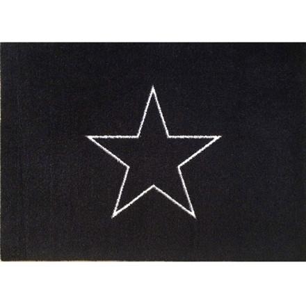 Skriver Collection Trendmat Delux Triple Star Black