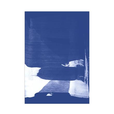 Strups Just Blue Poster No. 4