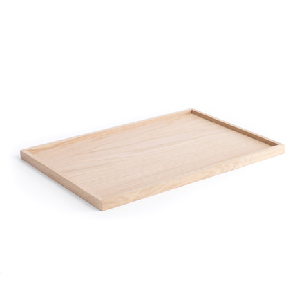 The Oak Men Square Tray Oak Large