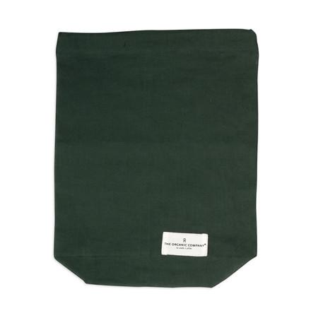 The Organic Company Food Bag Dark Green Medium