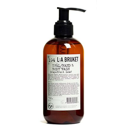 L:A Bruket Liquid Soap Grapefruit Leaf 250 Ml