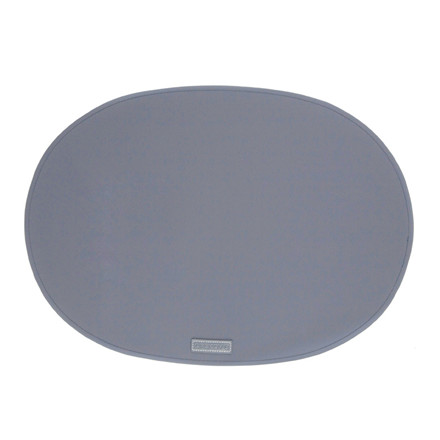 Ørskov & Co. Rubber Placemat Oval Antracit Grey