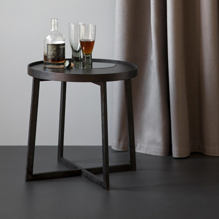 By Wirth Tray Table Black